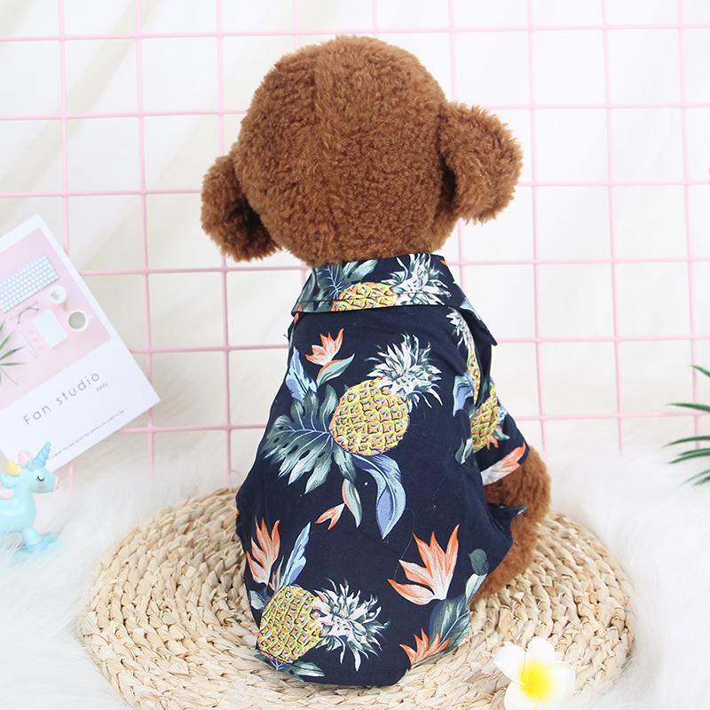 春夏装薄款狗狗衣服衬衫泰迪法斗比熊博美猫咪小型犬小狗宠物服饰