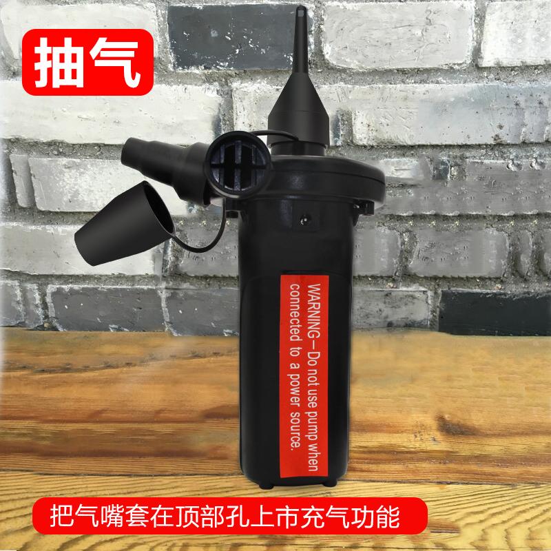 充气泵车载多功能便携式无线气球电动迷你小型户外蓄电池家用气床