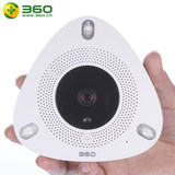 360 Kandian Po 2 generation smart camera 360-degree panoramic surveillance night vision HD 1080P wireless wifi network camera angles quad view a real-time alarm button