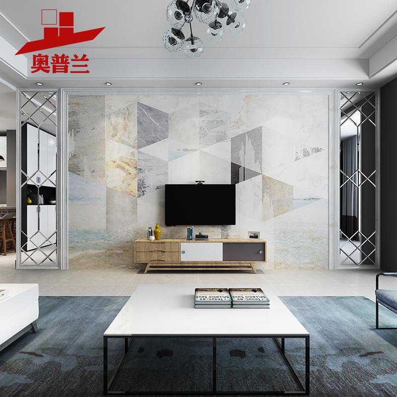 玻璃电视瓷砖