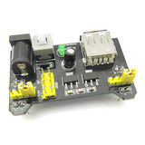 Breadboard Power Module Compatible with 5V 3.3V MB-102 Power Board Dual 5V/3.3 Black