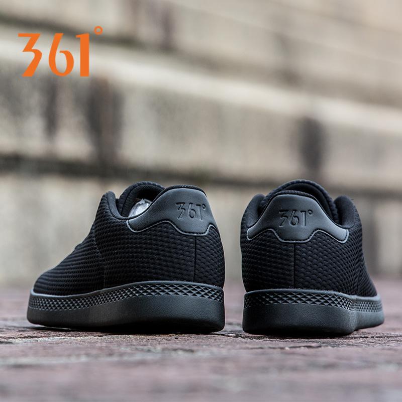 361度男鞋板鞋2018新款正品透气运动鞋男士秋季休闲鞋361滑板鞋子