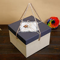 Square gift box large with gift gift box large gift box birthday gift box packaging box