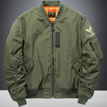 Autumn MA1 pilot jacket male air force large loose overcoat spring and autumn short Korean version baseball suit tide