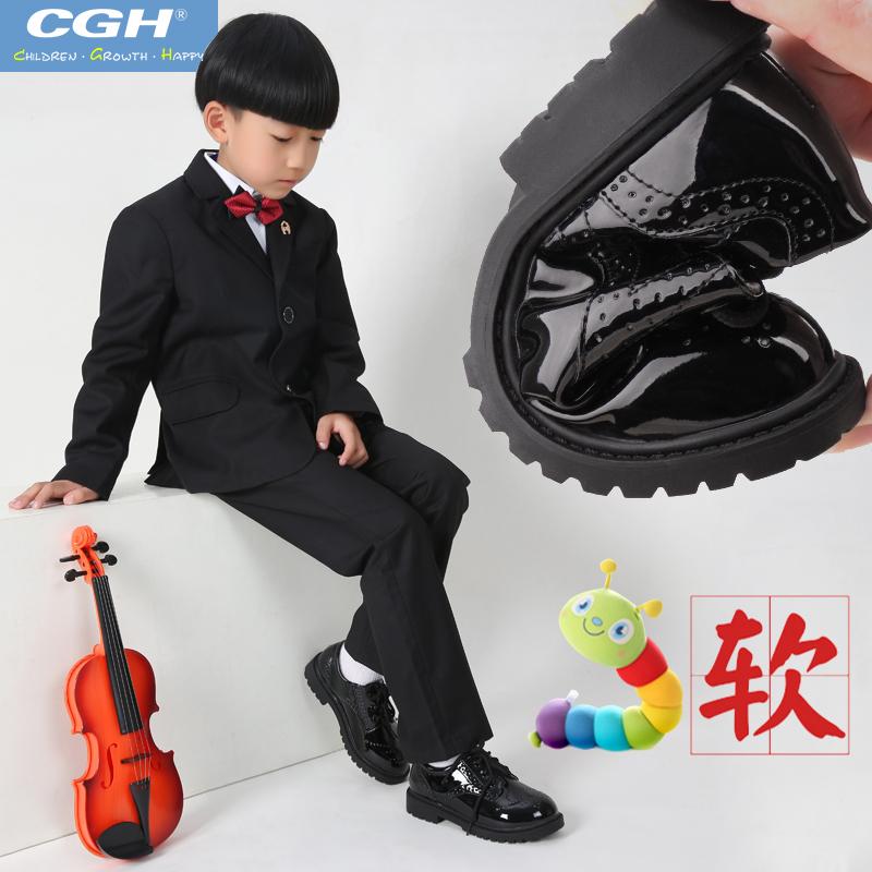 儿童花花皮鞋