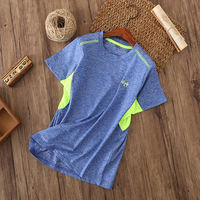 Fashion children's quick-drying T-shirt breathable 19 summer new boys and girls short-sleeved wet and sweaty 6-17 years old