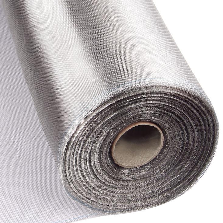 加厚304L不锈钢纱窗网 加密防蚊不锈钢窗纱网塑钢铝合金防鼠沙网