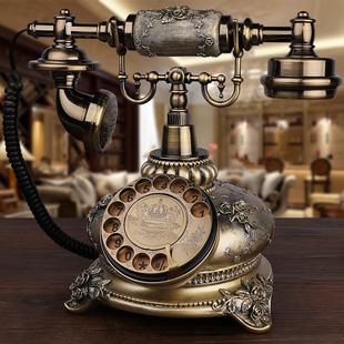 创意无线插卡电话机家用座机 GDIDS仿古电话机欧式复古田园时尚