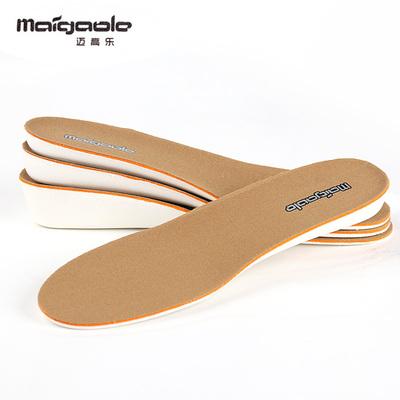 迈高乐 超纤革内增高鞋垫女运动鞋增高垫男式保暖全垫冬1/2/3.5cm