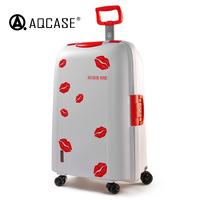22寸旅行箱女韩版小清新绿出国飞机托运行李箱万向轮拉杆箱28寸白