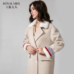 毛领高端大衣