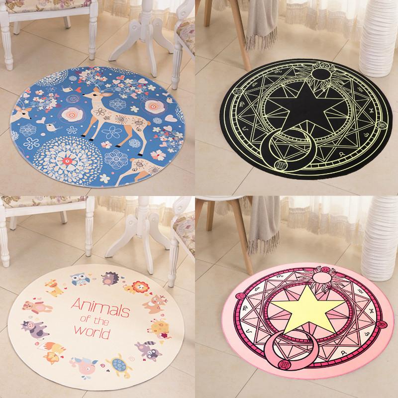 儿童地毯圆