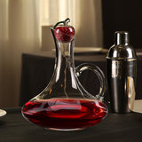 Wine decanter plug artificial crystal glass home fast wine decanter round dust glass cover