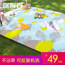 Explorer Spring Tour Mat thickened moisture-proof pad picnic pad picnics lawn camping picnic cloth Outdoor Portable