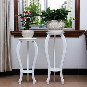 欧式室内多层落地式北欧现代简约客厅阳台单个仿实木多肉绿箩花架