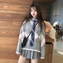 1斤J@29秋季韩版2018新款女装时尚长袖开衫单排扣显瘦短外套