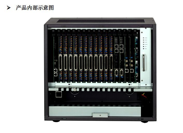 恒捷HJ-E800A型数字程控电话交换机16外线160分机 16进160出 拖带