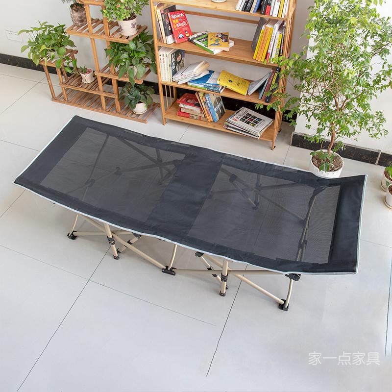 夏季新款办公室午睡床单人网布午休床多功能成人野外折叠床LB08