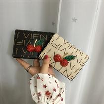 小钱包女短款2018新款日韩版可爱学生小钱夹个姓印花多卡位零钱包