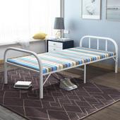 午休折叠床单人便携家用简易床双人办公室午睡床成人行军床经济型