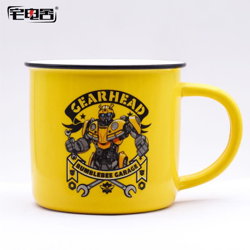 马克杯陶瓷水杯大黄蜂周边正版授权