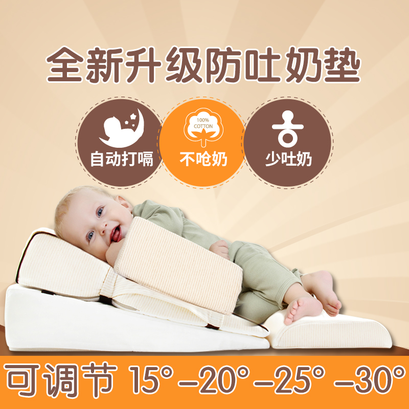 婴儿防溢奶枕