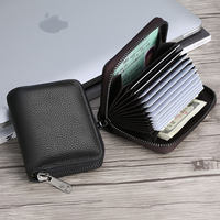 Card package men's leather multi-card ID card card large-capacity bank card holder simple small women's card sets