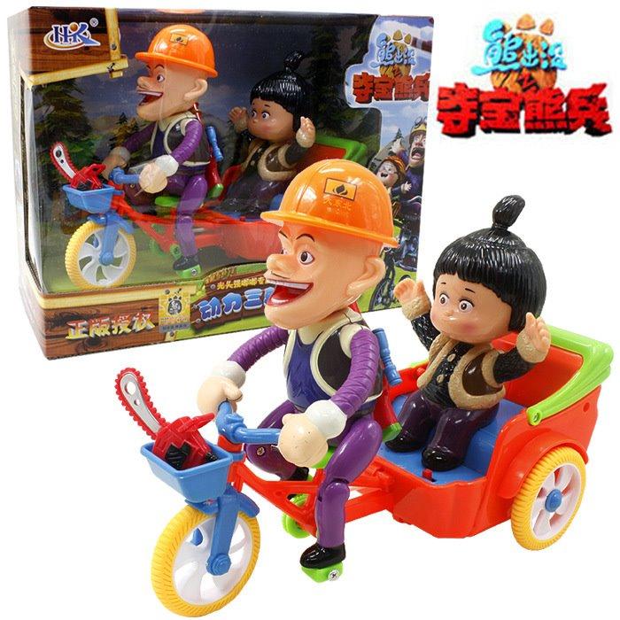包邮促销儿童玩具单车 电动自行车音乐灯光小人骑车精品