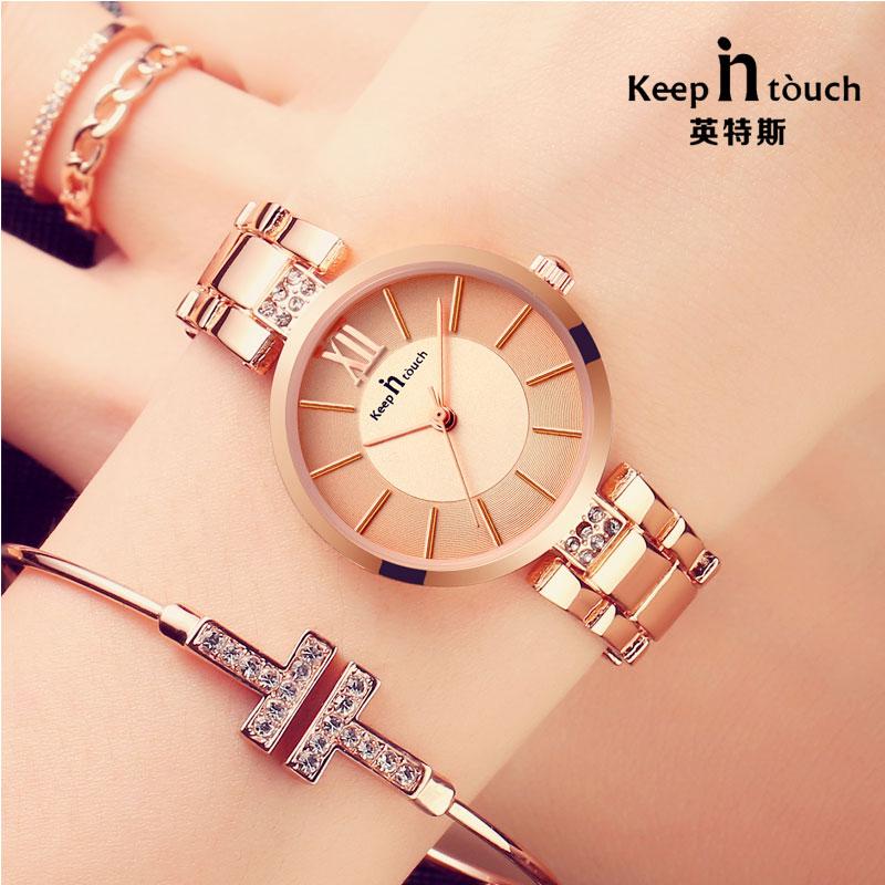 优雅时尚超薄女士手表