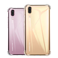 Huawei p20 mobile phone shell p30pro silicone nova4/3e/3i female mate20x glory v10/v20 youth version
