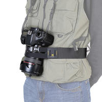 Angnol SLR camera fixed anti-smashing belt mountaineering outdoor photography belt riding pockets with A1151
