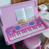 贝芬乐小猪佩奇儿童电子琴初学者钢琴小女孩书桌音乐玩具生日礼物