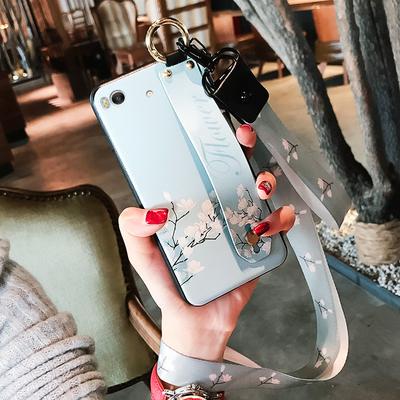 小米5x手机壳硅胶小米5s保护套挂绳全包防摔小米5splus个性女款潮新款推荐
