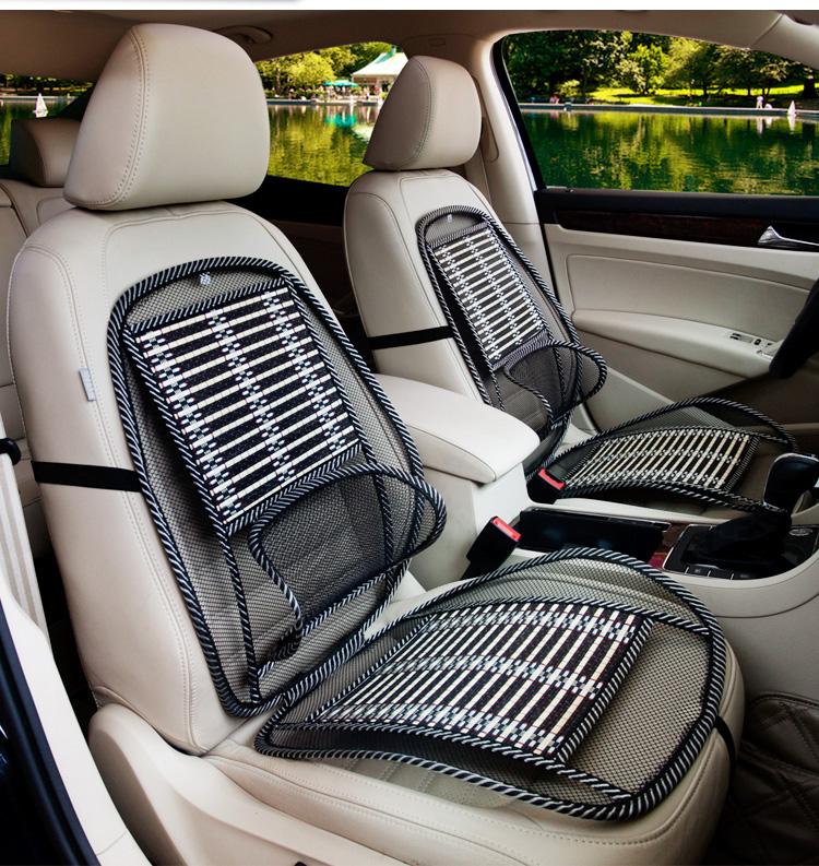 汽車上用品通風透氣坐墊后背鏤空護腰墊腰靠背座椅腰部支撐背靠墊