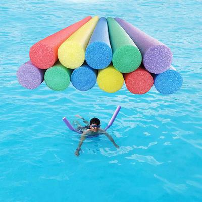 实心棒游泳棒空心海绵棒漂流棒浮条浮力棒泡沫棒成人儿童游泳浮棒