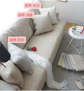 铨品沙发垫同款抱枕配套 简约现代时尚精美正反面料不同 有拉链
