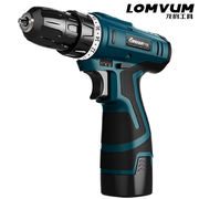 Long Yun 12V lithium drill rechargeable hand drill small pistol drill electric drill multi-function household electric screwdriver electric turn