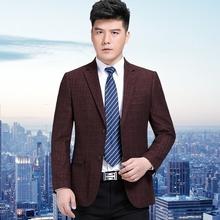 冬季男装新款修身西服中年yabo2018下载大码宽松西装外套0PLAYBOY0JOEONE0图片