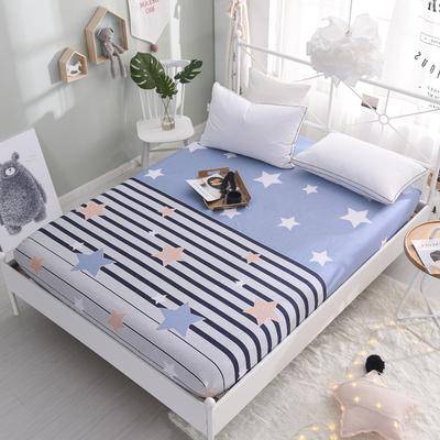 床笠单件全棉纯棉床单防尘床套1.2m1.5米1.8床垫席梦思保护套床罩