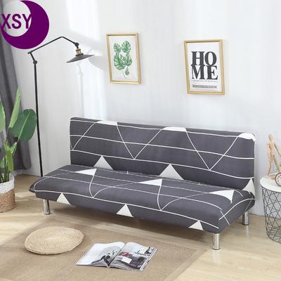 简易折叠弹力沙发床套全包无扶手沙发罩单双三人全罩简约现代