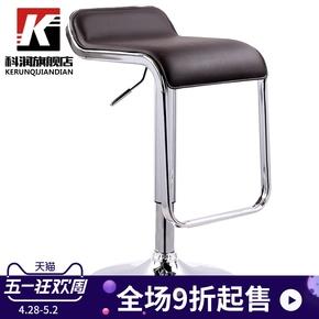 科润 吧台椅升降欧式吧凳高凳子酒吧椅子旋转高脚凳现代简约吧椅