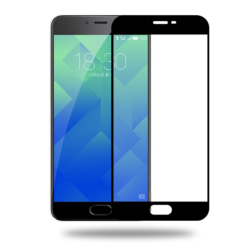 抗蓝光防摔弧边 5S 手机膜原装 note5 魅蓝 钢化膜全屏覆盖 5 魅族魅蓝