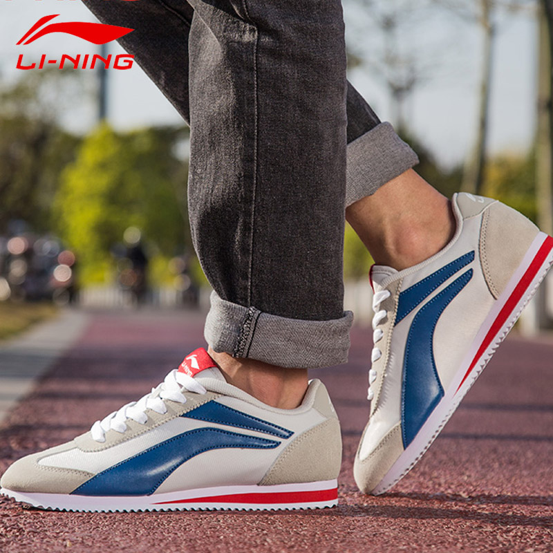 李宁阿甘鞋男鞋运动鞋2019秋季新款休闲鞋正品鞋子慢跑鞋板鞋白鞋