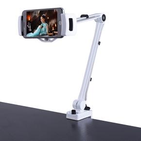 手机支架铝合金夹具懒人支架 苹果6S ipad平板桌面床头车载