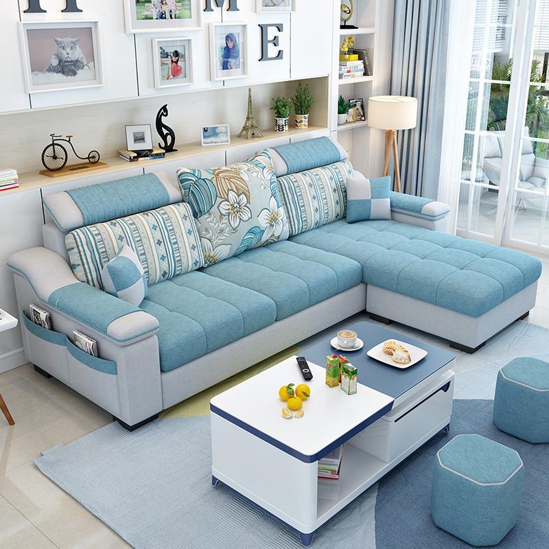 小户型布沙发