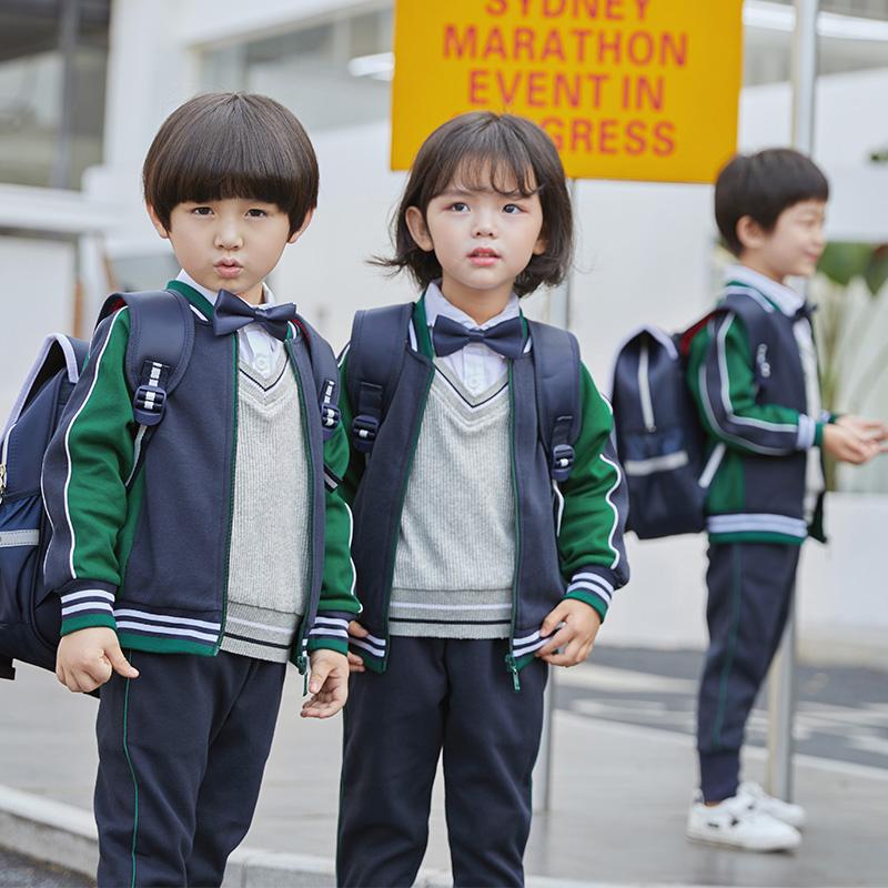 小学生运动服春秋