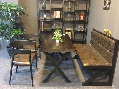 复古咖啡店卡座桌椅排行