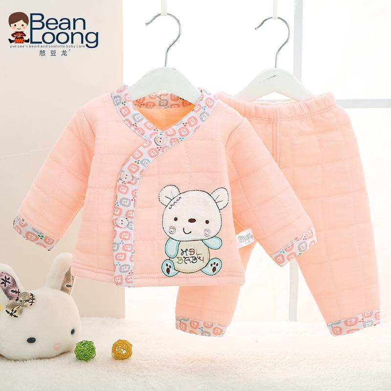 婴儿薄棉衣女