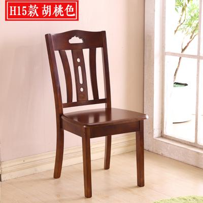 全实木餐椅橡木椅子家用简约现代中式北欧餐桌木凳子靠背椅子特价新款推荐