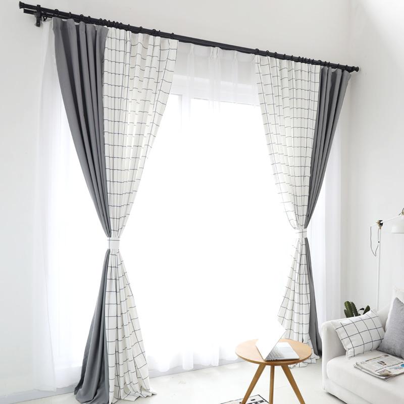 客厅窗帘田园风格